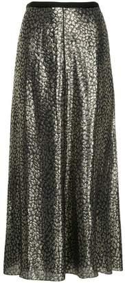 Layeur Barbara metallic skirt