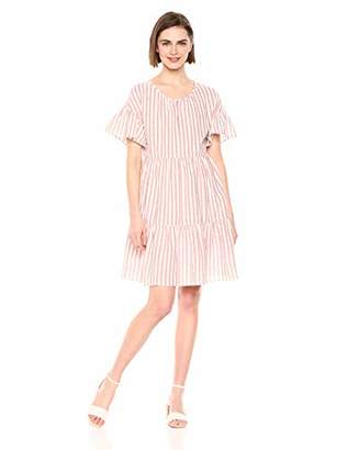 Velvet by Graham & Spencer Women's Nikki Stripe Woven Dress