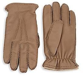 2fcbf1f0f46d Saks Fifth Avenue Men s COLLECTION Cashmere-Lined Deerskin Gloves
