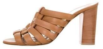 Salvatore Ferragamo Leather Woven Sandals Leather Woven Sandals