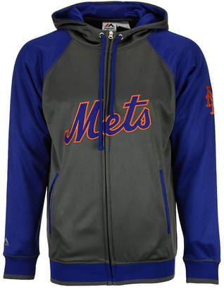 Majestic Men's New York Mets Fanatic Raglan Full-Zip Hoodie