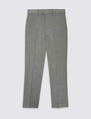 Marks and Spencer Textured Trousers (3-16 Years)