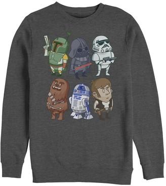 Star Wars Licensed Character Men's Classic Doodles Hoodie