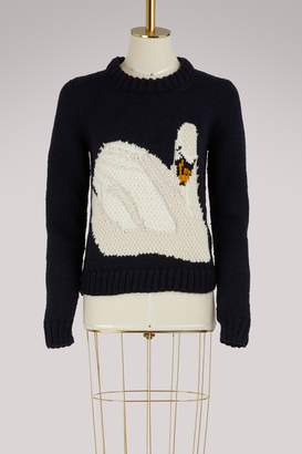 J.W.Anderson Swan wool sweater