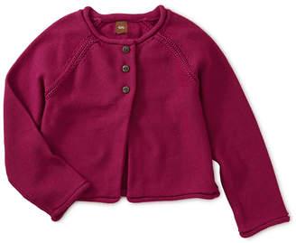 Tea Collection Solid Raglan Sweater Cardigan