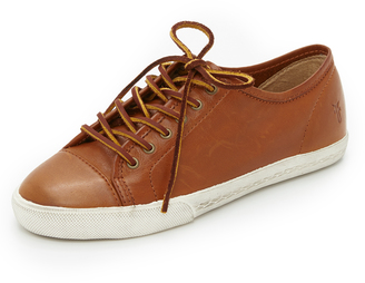 Frye Mindy Low Sneakers $138 thestylecure.com