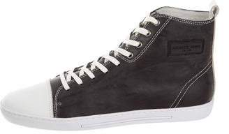 Android Leather High-Top Sneakers