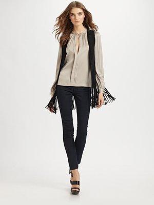 Anca Leather Vest