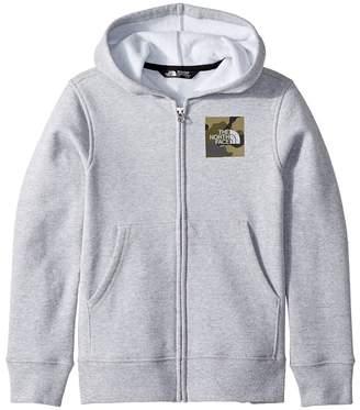 The North Face Kids Logowear Full Zip Hoodie Boy's Sweatshirt