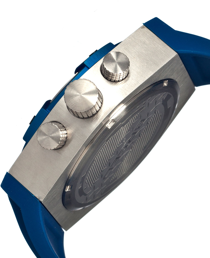 Breed Titan Stainless Steel Case Watch