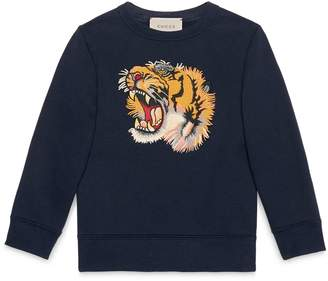 Children's sweatshirt with tiger $395 thestylecure.com