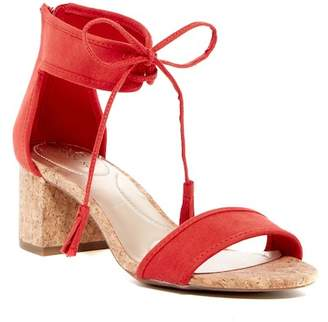 Bandolino Semise Ankle Tie Sandal $59 thestylecure.com