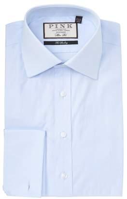 Thomas Pink Arthur Twill Slim Fit Dress Shirt
