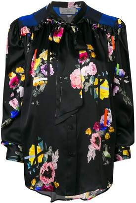 Preen by Thornton Bregazzi Even bow tie floral blouse