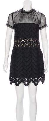 Self-Portrait Lace Mini Dress w/ Tags