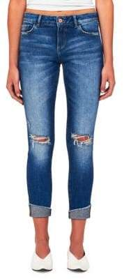 Florence Mid-Rise Crop Skinny Jeans