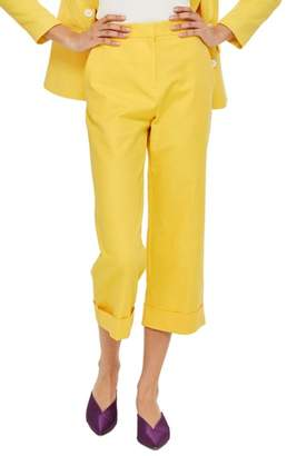 Topshop Milly Crop Suit Trousers
