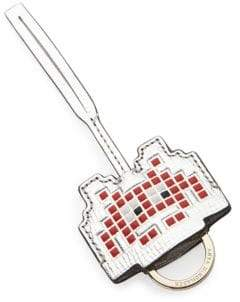 Anya Hindmarch Space Invader Key Fob