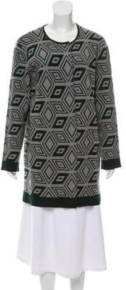 Dries Van Noten Open-Front Wool Cardigan
