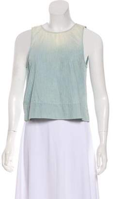 J Brand Denim Sleeveless Top