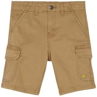 Mantaray Boys' Tan Cargo Shorts