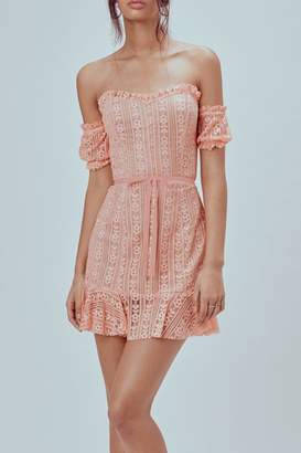 For Love & Lemons Dakota Mini Dress