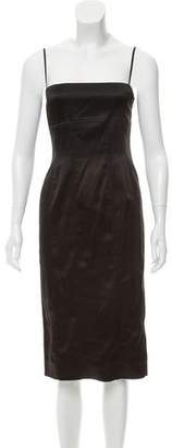 Ralph Lauren Satin Midi Dress