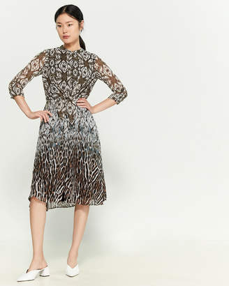 Donna Ricco Multi Print Dress