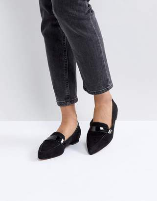 Asos DESIGN LUCY Pointed Ballet Flats