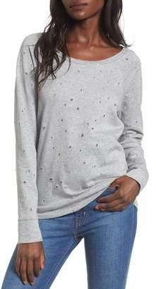 Love, Fire Holey Sweatshirt