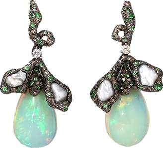 Arunashi Opal Earrings