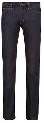 HUGO BOSS Slim-fit jeans in stay-blue stretch denim