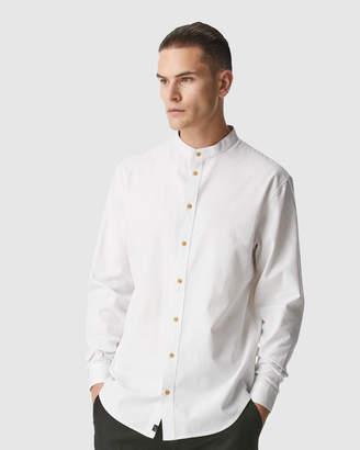 I Love Ugly Mandarin Collar Shirt