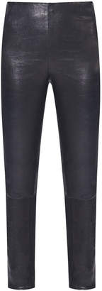 Veronica Beard Indy Leather Legging