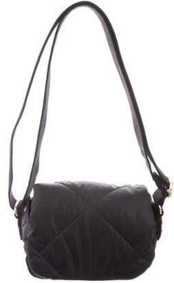 Sonia Rykiel Mini Quilted Nylon Crossbody Bag