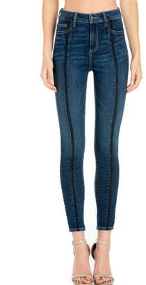 Cello Jeans Front-Seam Skinny Jeans
