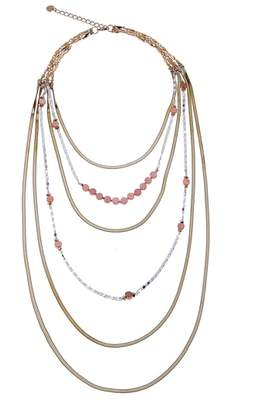 Nakamol Design Layered Snake Chain Necklace