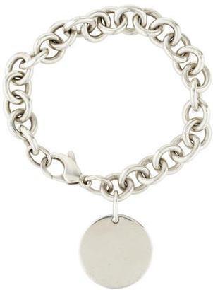 Tiffany & Co. Round Tag Bracelet $145 thestylecure.com