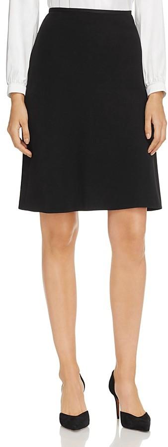 Armani Collezioni Fluid A-Line Skirt