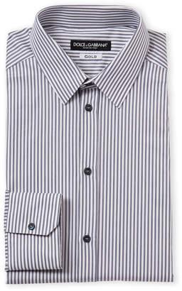 Dolce & Gabbana Pinstripe Dress Shirt