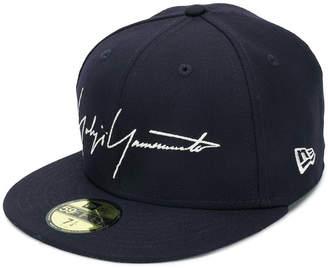 Yohji Yamamoto logo embroidered cap