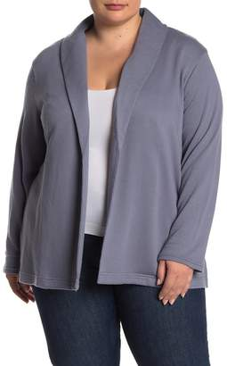 Susina Knit Open Front Blazer (Plus Size)