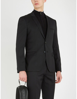 HUGO Slim-fit wool blazer