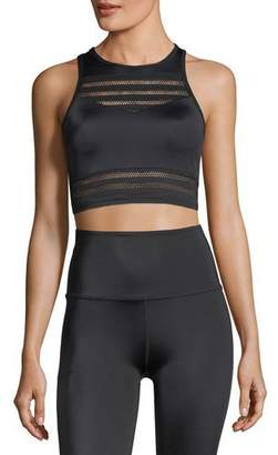 Beyond Yoga Mesh to Impress Compression Lux Sports Bra