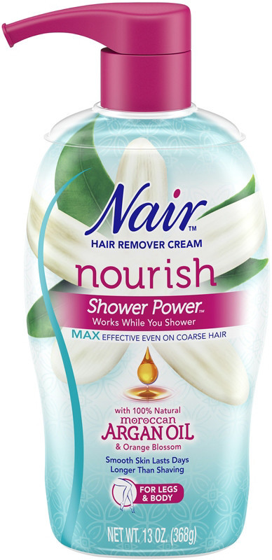 Nair Nourish Moroccan Argan Oil Shower Power Max