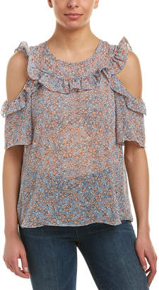 BCBGeneration Cold-Shoulder Top