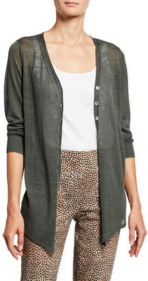 Nic+Zoe Carefree Button-Front Cardigan