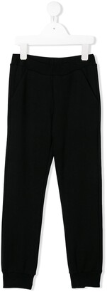 Fendi logo stamp tracksuit trousers