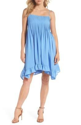 Adelyn Rae Everly Pleated Bodice Babydoll Dress