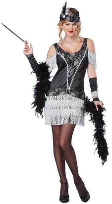 California Costumes Women's Razzle Dazzle Flapper Roaring 2O's Dress